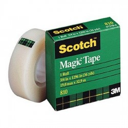 3M 810 Scotch Magic Tape 19mm
