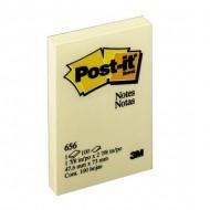 3M 656 Post-it Note 2x3 Yellow