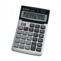 Aurora DT260 10-Digit Desktop Calculator