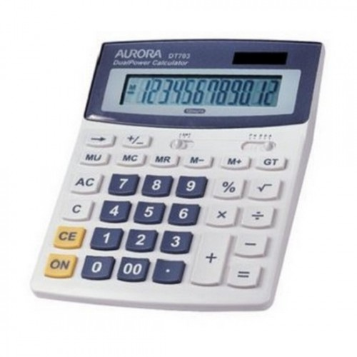 Aurora DT703 12-Digit Desktop Calculator