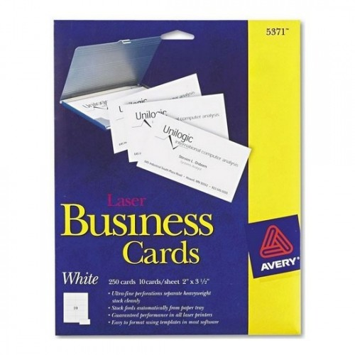 Avery 5302 Laser Tent Card