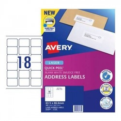 Avery L7161 Address Labels