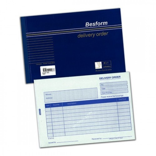 Besform Delivery Order Pad