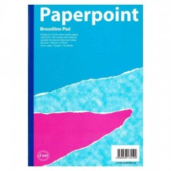 Paperpoint Broadline Lecture Pad A5 70gsm