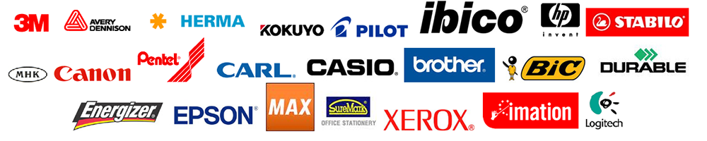 We carry a wide variety of Office Stationery Brands