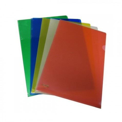 Colour L-Shape Folder FS (doz)