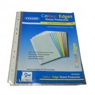 11-Hole Sheet Protector Colour Edge 0.06mm (20s)