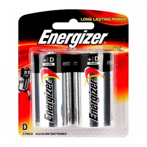 Energizer Alkaline Battery E95 BP2 (D)