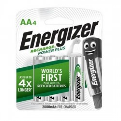 Energizer Rechargeable Battery AA 2000mAh (4s/pk)