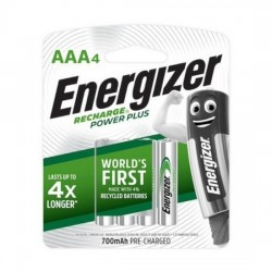 Energizer Rechargeable Battery AAA 700mAh (4s/pk)