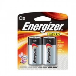 Energizer Alkaline Battery E93 BP2 Size C