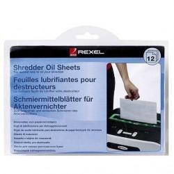 REXEL OIL SHEET FOR PAPER SHREDDER