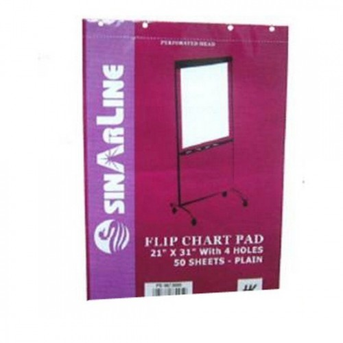 Hk Perforated FlipChart Pad with 4 Holes