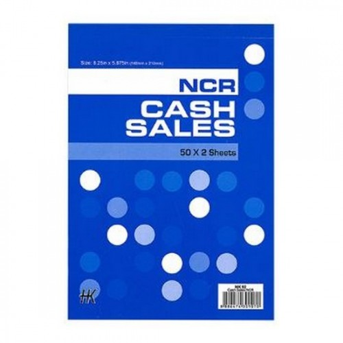 Cash Sales Book HK92 NCR
