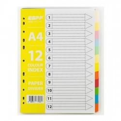 Paper Divider Colour 12tab