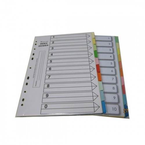 Paper Divider Colour