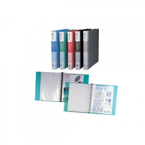 Kam KS604L Refillable Clear Book A4 20Pkt (Metal)