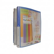 Kam KS20AC Clear Book with View Cover A4 20pkts