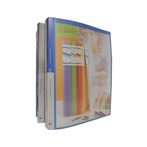 Kam KS60AC Clear Book with View Cover A4 60pkts