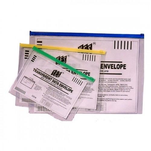 Transparent Soft Zip Bag (A4) 2s