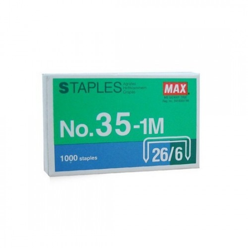 Max No.35-1m 26/6 Staple Pins