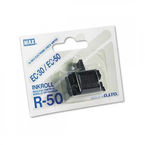 Max R50Blk EC30/50 Check Writer Tape