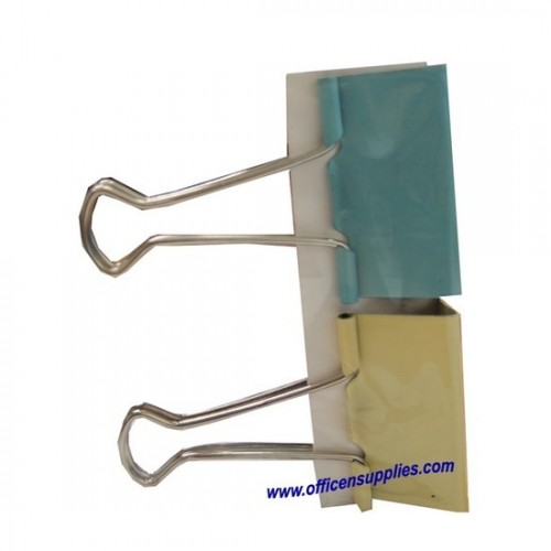Colour Binder Clips 51mm (2 pcs)