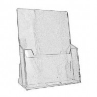 N68 A4 1-Tier Acrylic Stand
