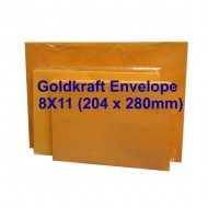Envelope No.811 8X11 Goldkraft (10s)