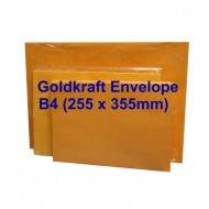 Envelope B4GK 10X14 Goldkraft (10s)
