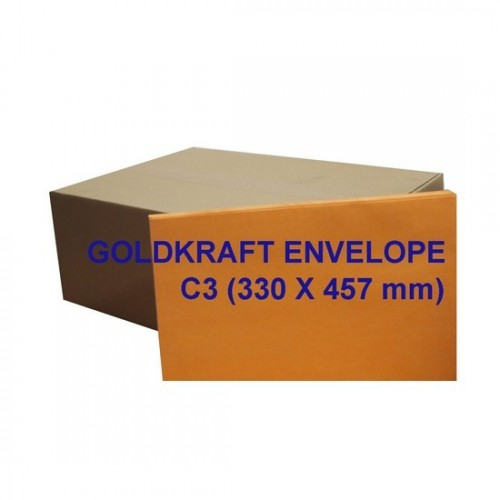 Envelope C3GK 13X18 Goldkraft (box)
