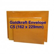 Envelope C5Gk 6-3/8X9 Goldkraft (20s)