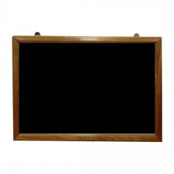 Hanging Chalkboard with Wooden Frame