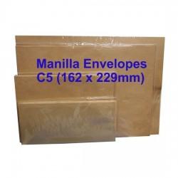 Envelope C5M 6-3/8X9 Manilla (20s)