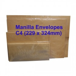 Envelope C4M 9X12-3/4 Manilla (10s)