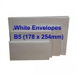 Envelope B5W 7X10 White (10s)