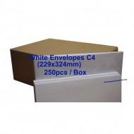 Envelope C4W 9X12-3/4 White (box)