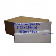 Envelope C5W 6-3/8X9 White (box)