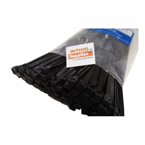 Black Cable Ties (100/pk)