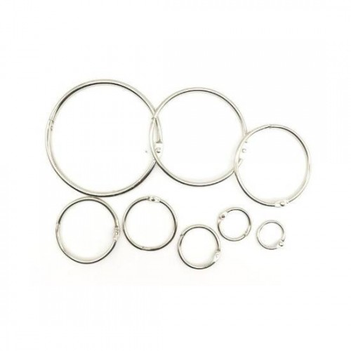 Metal Card Ring 48mm - 5pcs