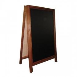 Wooden Chalkboard Menu Stand
