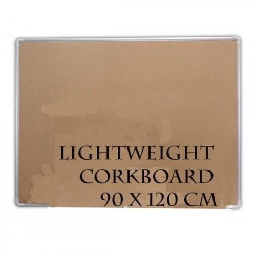 Corkboard with Aluminium Frame 90x120cm