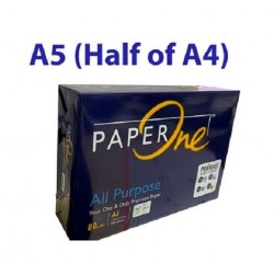 A5 80gsm Paperone Blue All Purpose Copy Paper (500 Sheets)