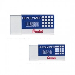 Pentel ZEH03E Hi-Polymer Eraser, Small