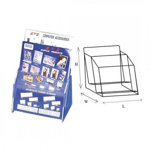 STZ 50831 2-tier Acrylic Leaflet Holder A4