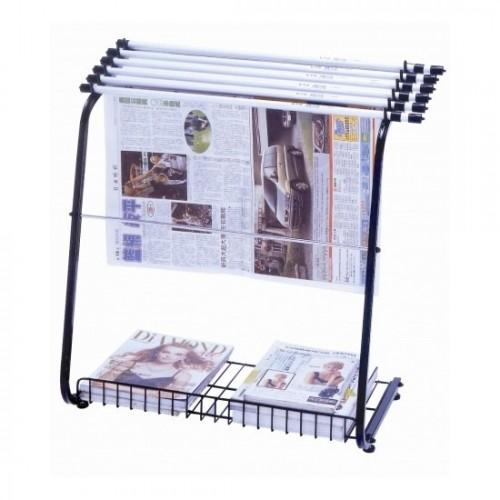 STZ Newspaper Rack with Hangers 42410