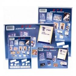 Acrylic L-Shape Leaflet Holder