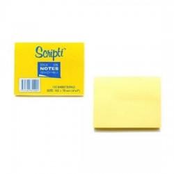 Scripti 30400C Stick-On NotePad 3X4