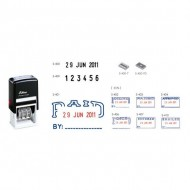 Shiny S401-406 Self-Inking Stamp with Date