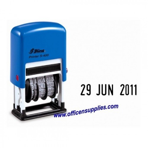 Shiny S400 Self-inking Date Stamp